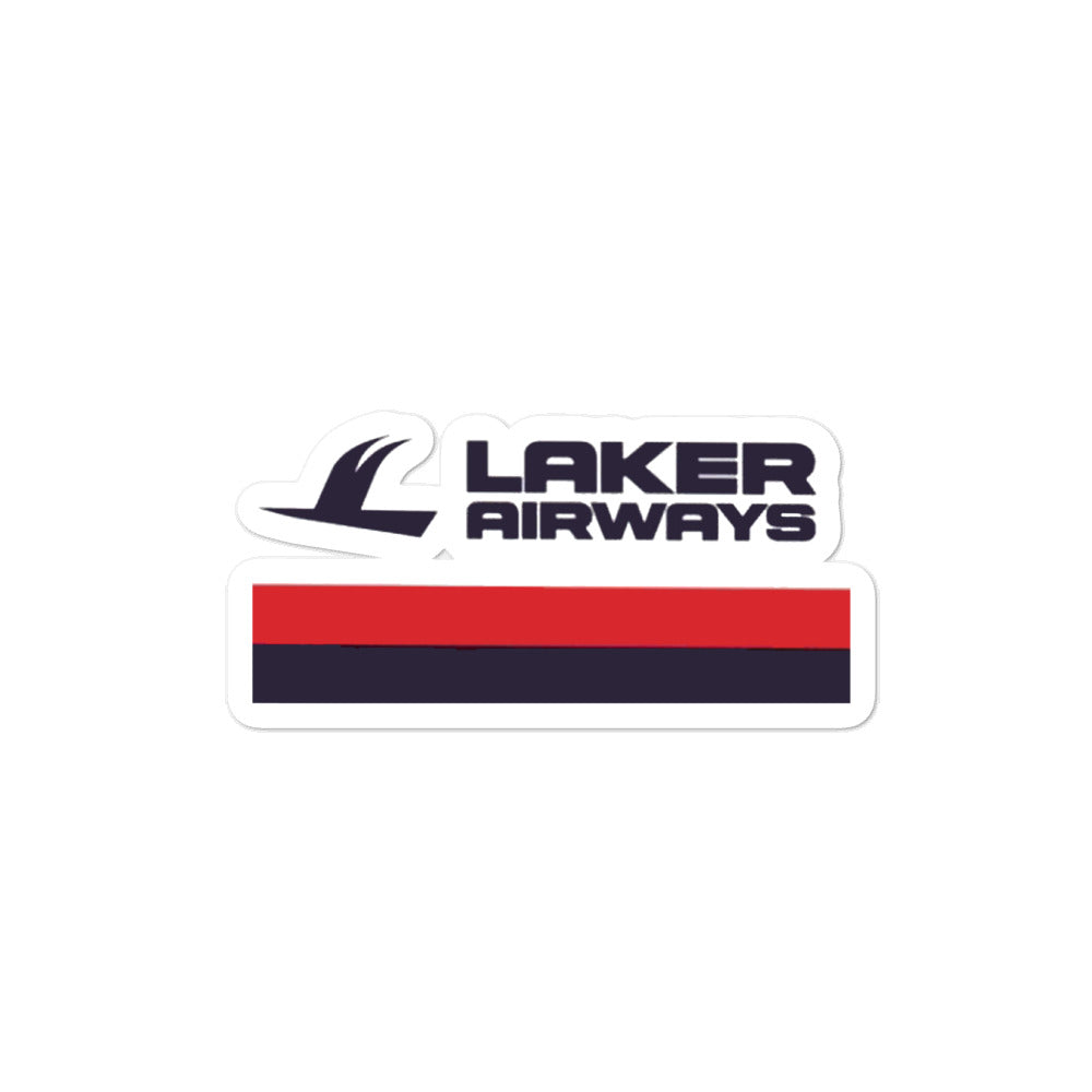 Retro Laker Airways Sticker