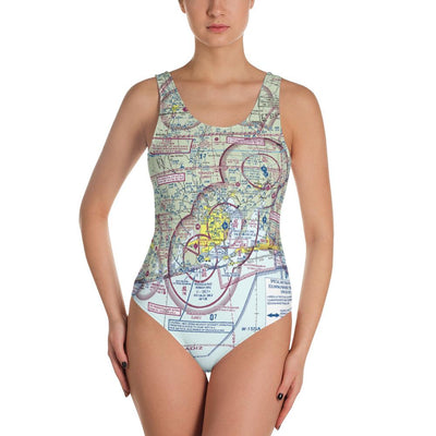 Pensacola Sectional One-Piece Swimsuit - RadarContact