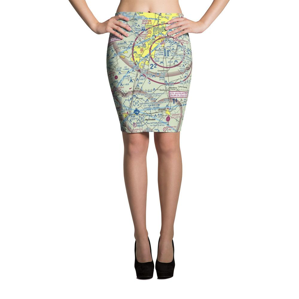 Austin Sectional Pencil Skirt - RadarContact - ATC Memes