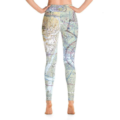 Anchorage Sectional Yoga Leggings - RadarContact - ATC Memes