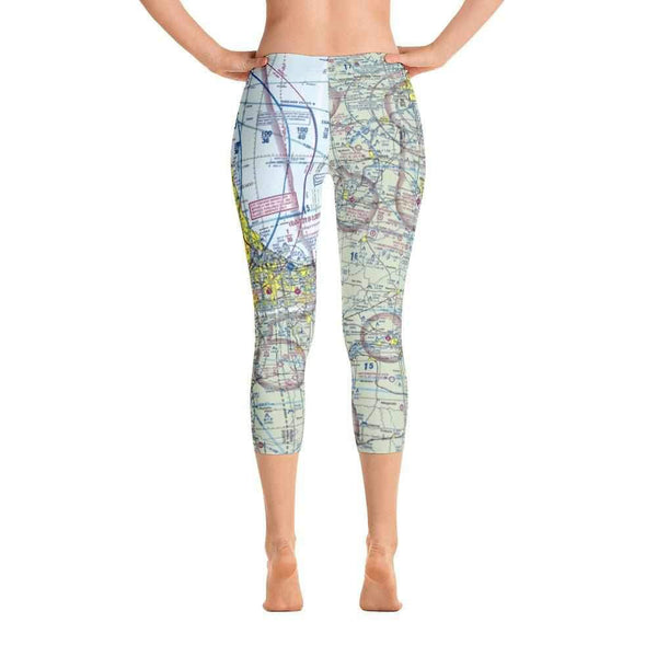 Chicago Sectional Capri Leggings