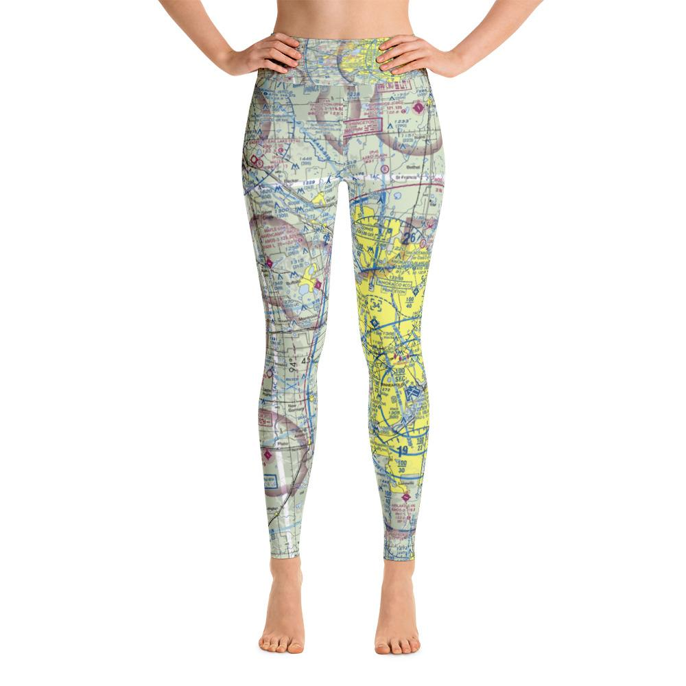 Minneapolis Sectional Yoga Leggings