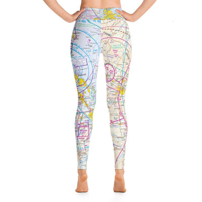 Brisbane Sectional Yoga Leggings - RadarContact - ATC Memes