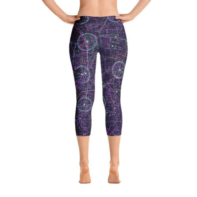 Memphis Sectional Capri Leggings (Inverted) - RadarContact