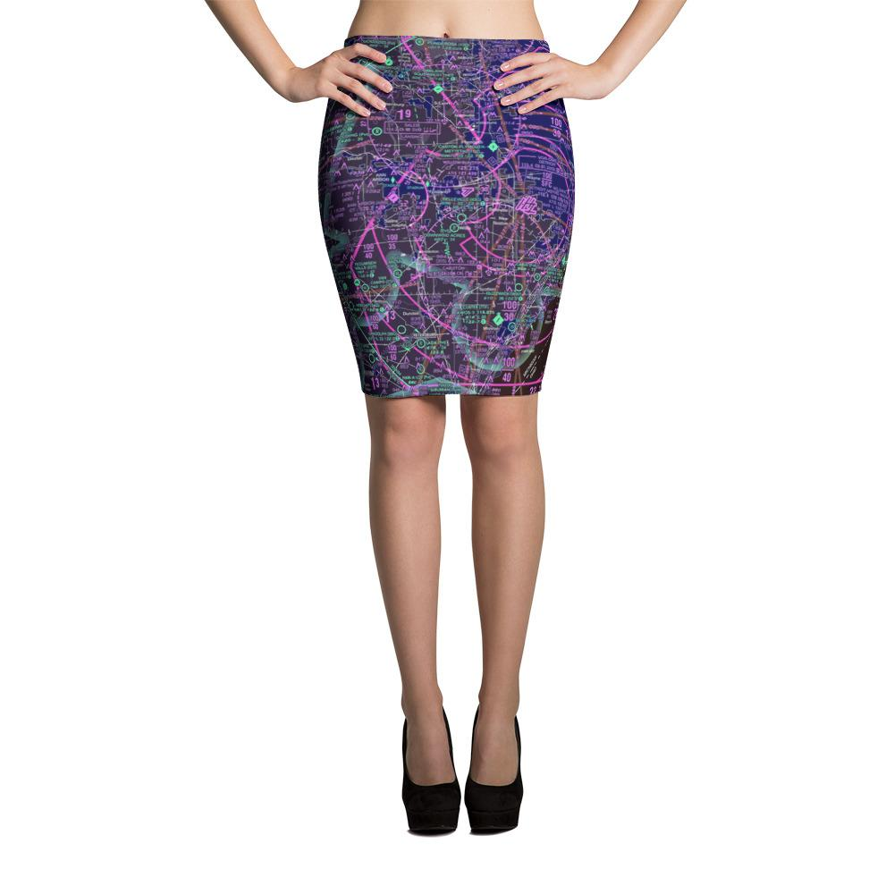 Detroit Sectional Pencil Skirt (Inverted) - RadarContact - ATC Memes