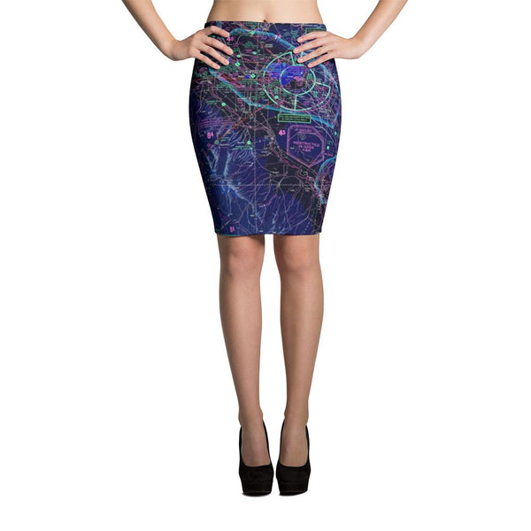 Boise Sectional Pencil Skirt (Inverted) - RadarContact