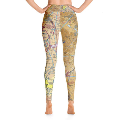 Colorado Springs Sectional Yoga Leggings - RadarContact - ATC Memes