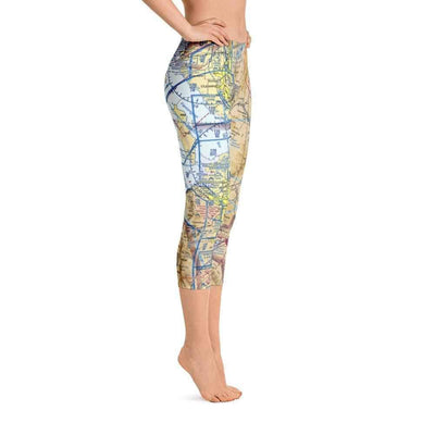 Salt Lake Sectional Capri Leggings - RadarContact