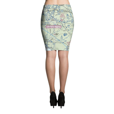 Tallahassee Sectional Pencil Skirt - RadarContact