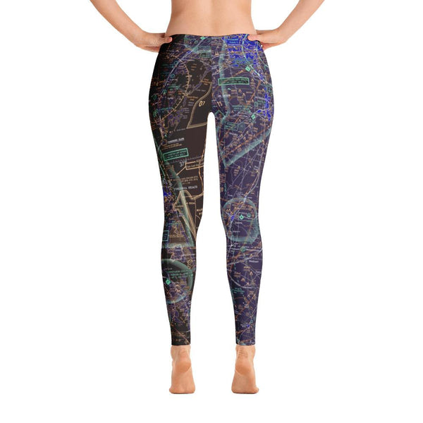Coastal Virginia Sectional Leggings (Inverted) - RadarContact