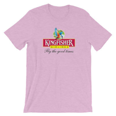 Retro Kingfisher Airlines T-Shirt - RadarContact