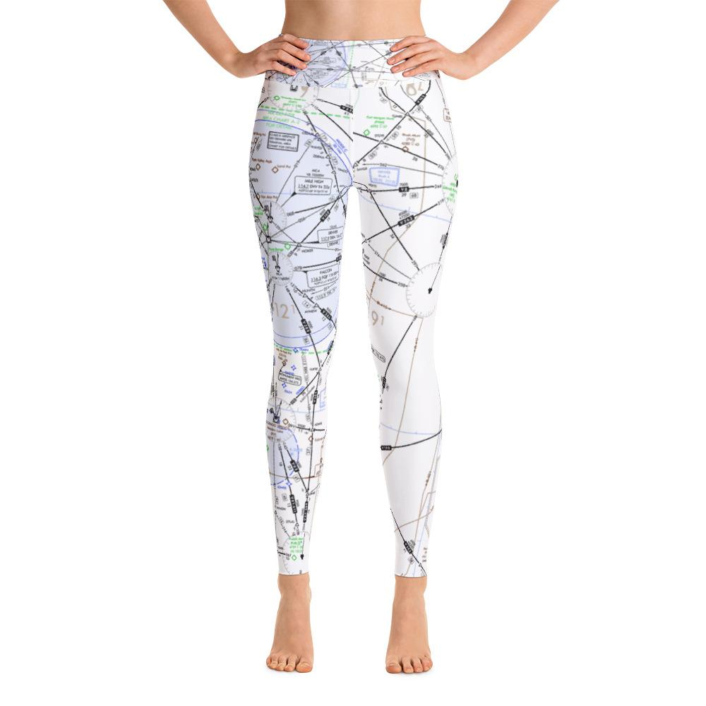 Denver Low Altitude Yoga Leggings - RadarContact - ATC Memes