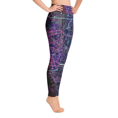 San Diego Sectional Yoga Leggings (Inverted) - RadarContact