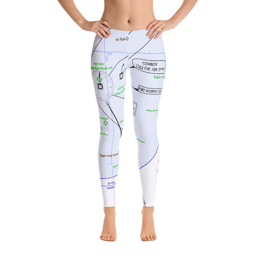 Dallas Low Altitude Leggings - RadarContact - ATC Memes