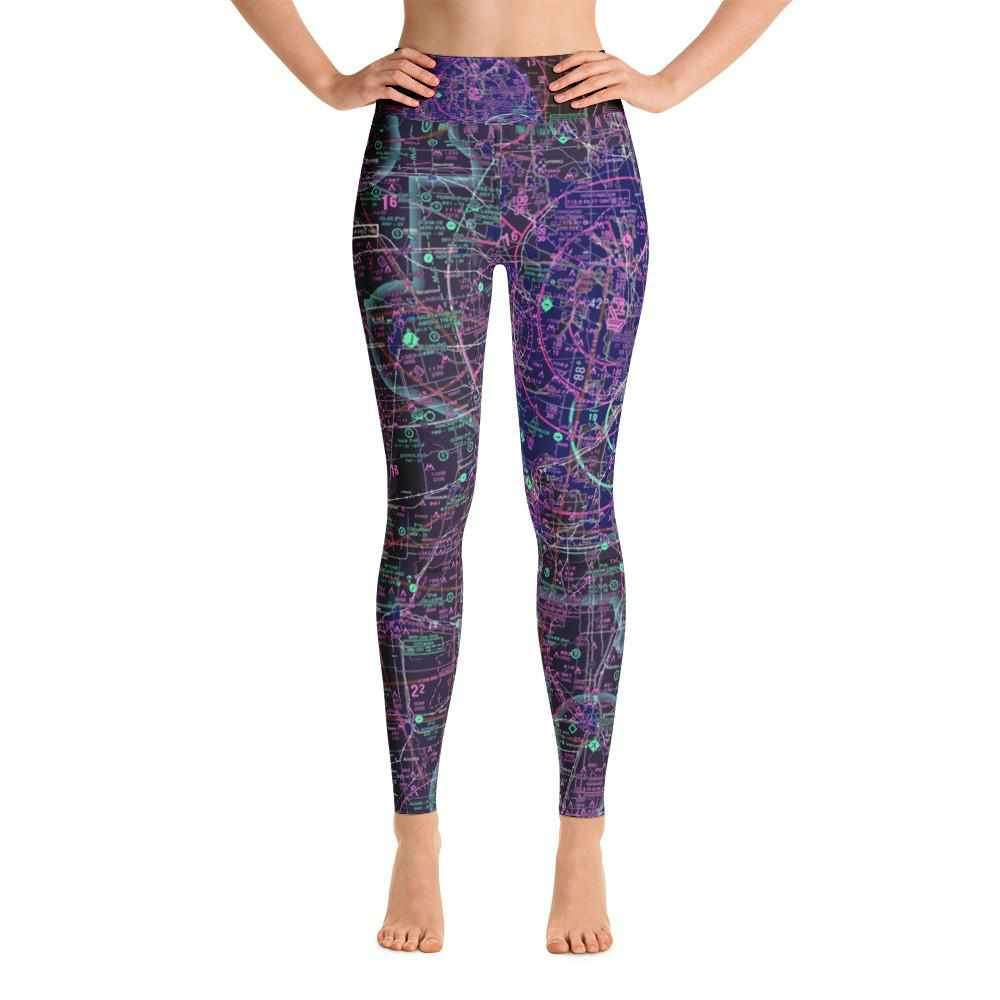 Chicago Sectional Yoga Leggings (Inverted) - RadarContact
