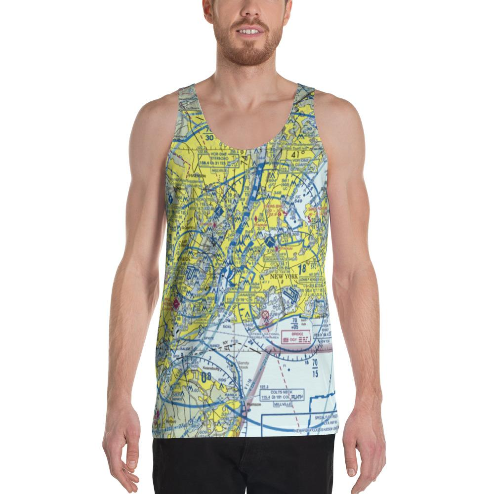 New York Sectional Tank Top