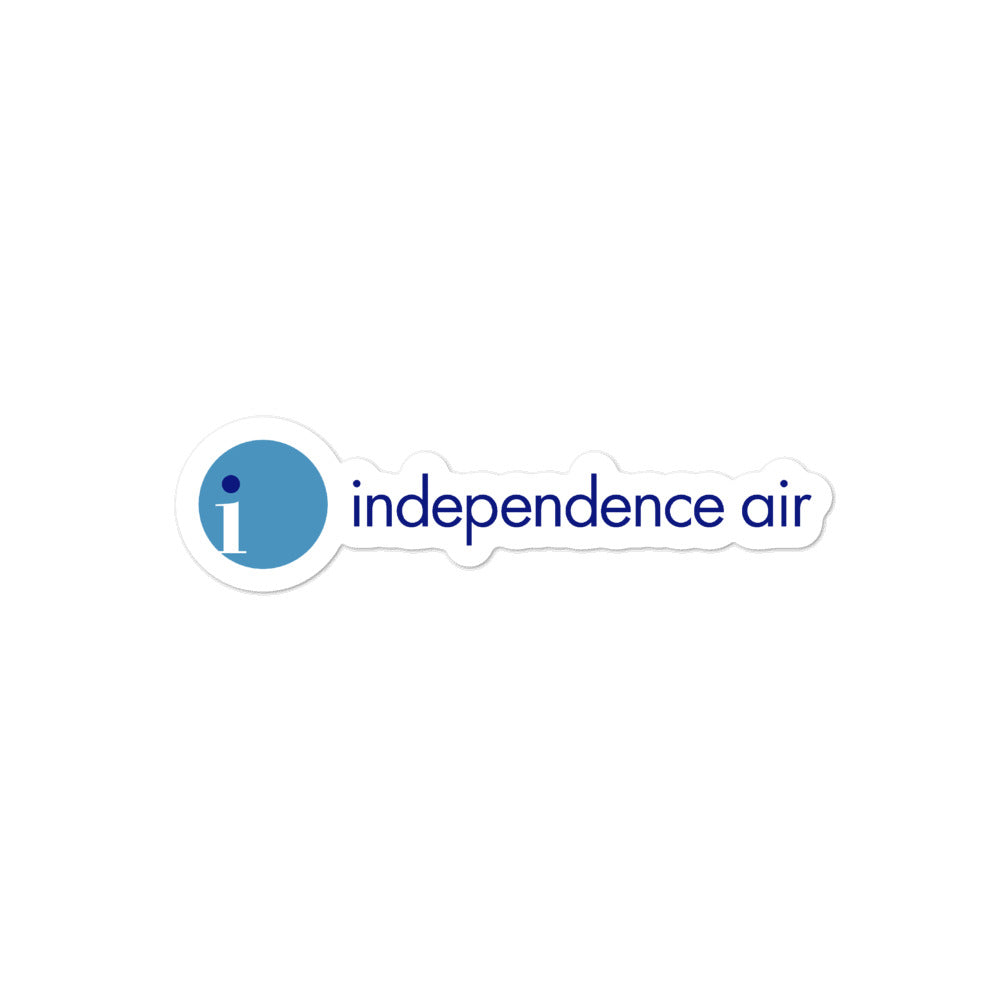 Retro Independence Air Sticker - RadarContact