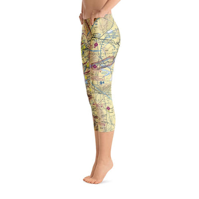 Reno Sectional Capri Leggings