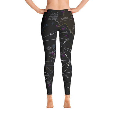 Pittsburgh Low Altitude Leggings (Inverted)