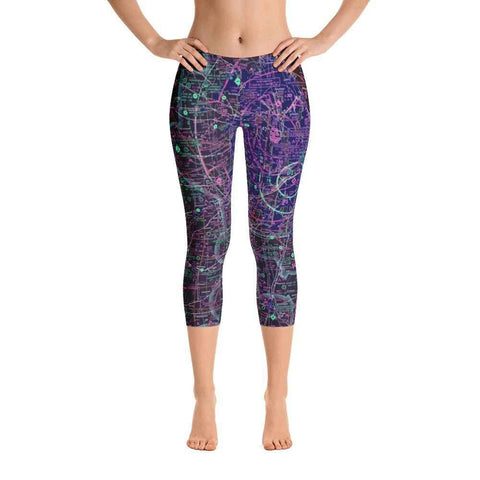 Chicago Sectional Capri Leggings (Inverted) - RadarContact