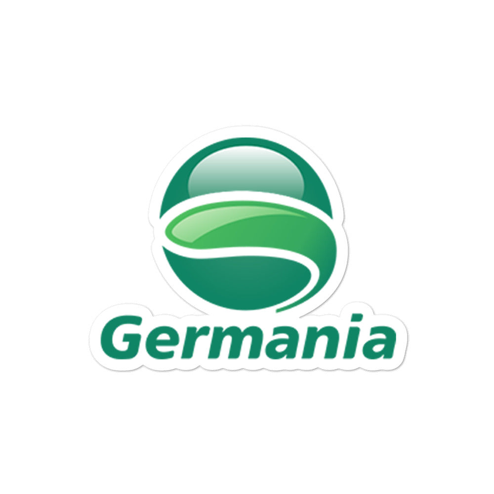 Retro Germania Sticker