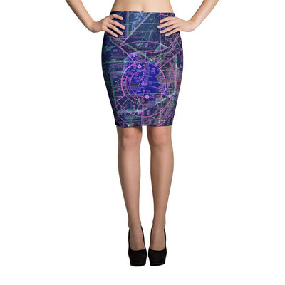 Las Vegas Sectional Pencil Skirt (Inverted) - RadarContact
