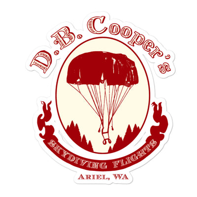 DB Cooper Sticker