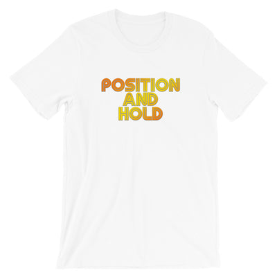Position and Hold Retro T-Shirt - RadarContact