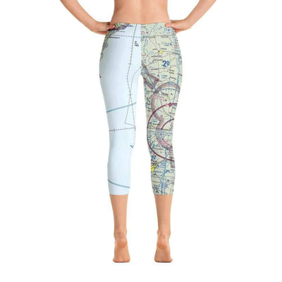Green Bay Sectional Capri Leggings - RadarContact - ATC Memes