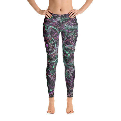 Allentown Sectional Leggings (Inverted) - RadarContact - ATC Memes