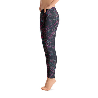 Tinker AFB Sectional Leggings (Inverted)
