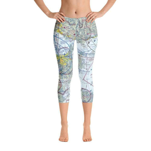 New Orleans Sectional Capri Leggings