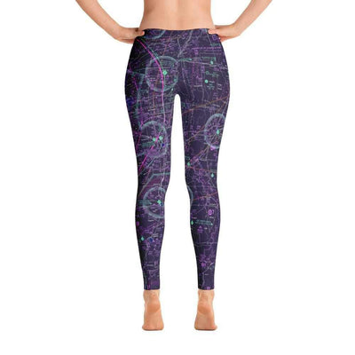 Memphis Sectional Leggings (Inverted) - RadarContact