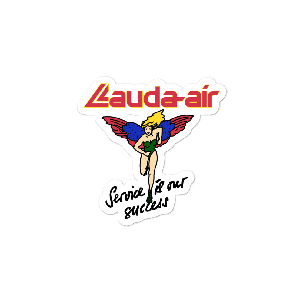 Retro Lauda Air Sticker