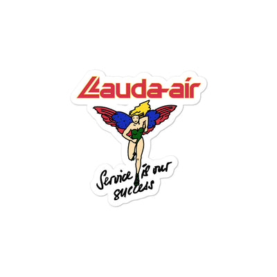 Retro Lauda Air Sticker - RadarContact