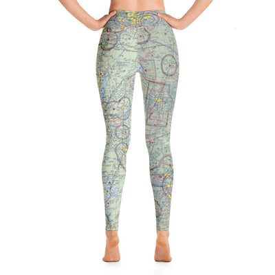 Oklahoma City/Tulsa Sectional Yoga Leggings