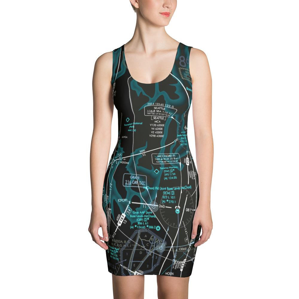 Seattle Low Altitude Dress (Inverted)