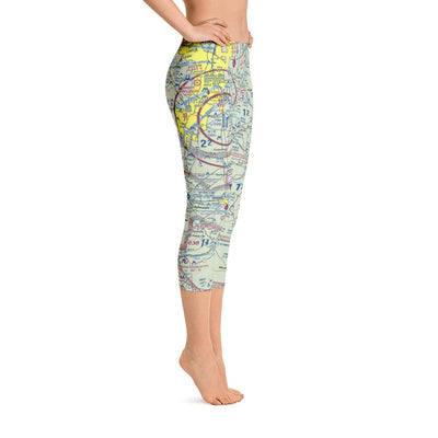 Austin Sectional Capri Leggings - RadarContact