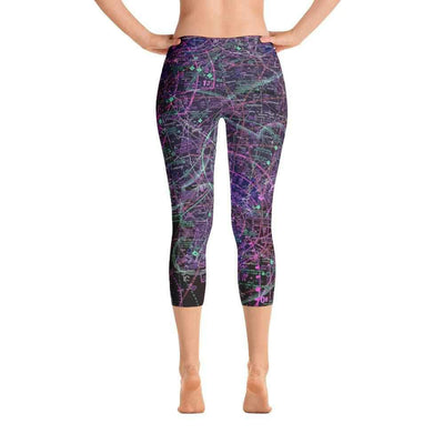 Philadelphia Sectional Capri Leggings (Inverted)