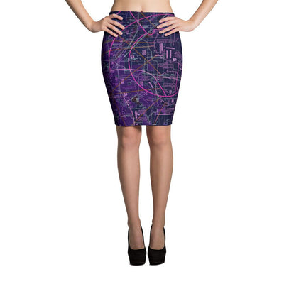 Denver Sectional Pencil Skirt (Inverted) - RadarContact - ATC Memes