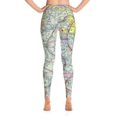 Raleigh-Durham Sectional Yoga Leggings