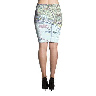 Pensacola Sectional Pencil Skirt