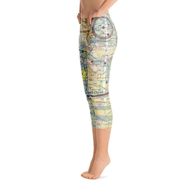 San Diego Sectional Capri Leggings
