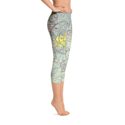 San Antonio Sectional Capri Leggings - RadarContact