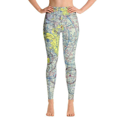Charlotte Sectional Yoga Leggings - RadarContact - ATC Memes
