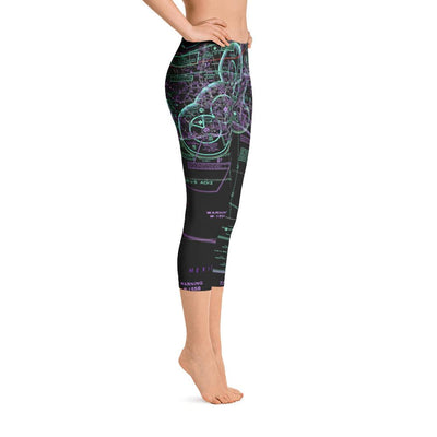 Pensacola Capri Leggings (Inverted)