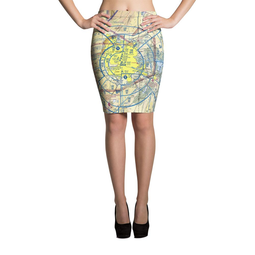 Las Vegas Sectional Pencil Skirt - RadarContact