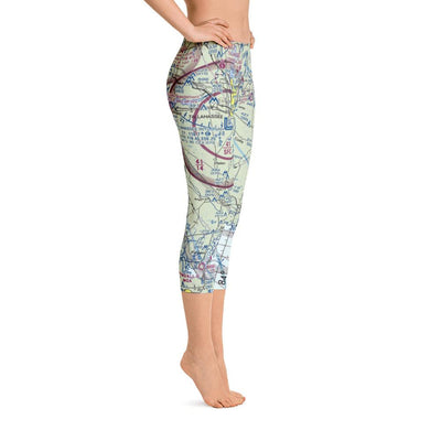 Tallahassee Sectional Capri Leggings