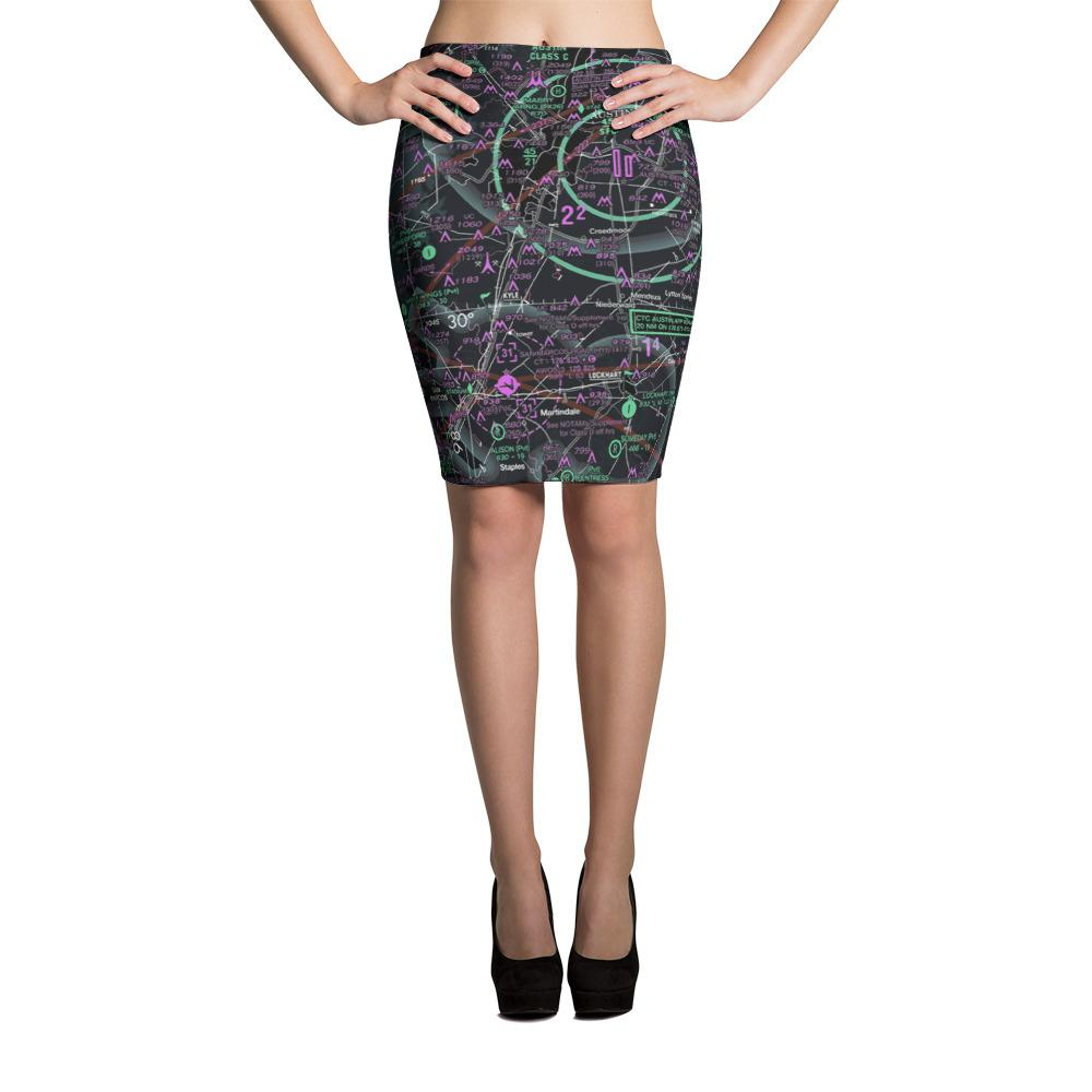 Austin Sectional Pencil Skirt (Inverted) - RadarContact - ATC Memes