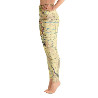 El Paso Sectional Yoga Leggings - RadarContact - ATC Memes